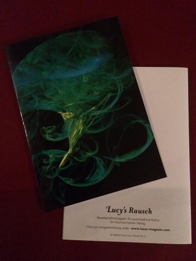 Lucys Rausch Weihnachts-Postkarte