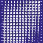 Mini-Mondphasenkalender 2018