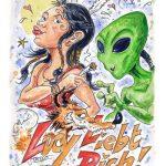 Postkarte Lucy Liebt Dich