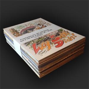 Postkarten div. Nachtschatten 100 Stück
