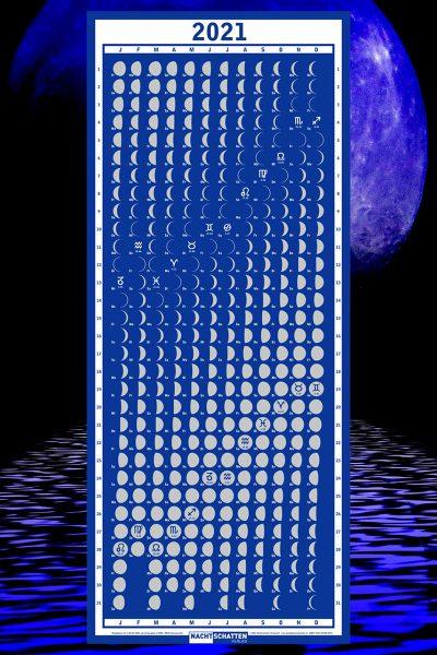 Mondphasenkalender 2021