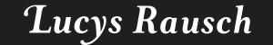 Lucys Rausch Logo