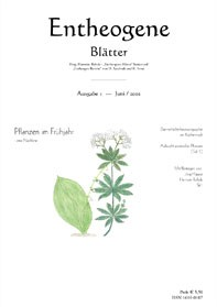 Entheogene Blätter Nr. 1